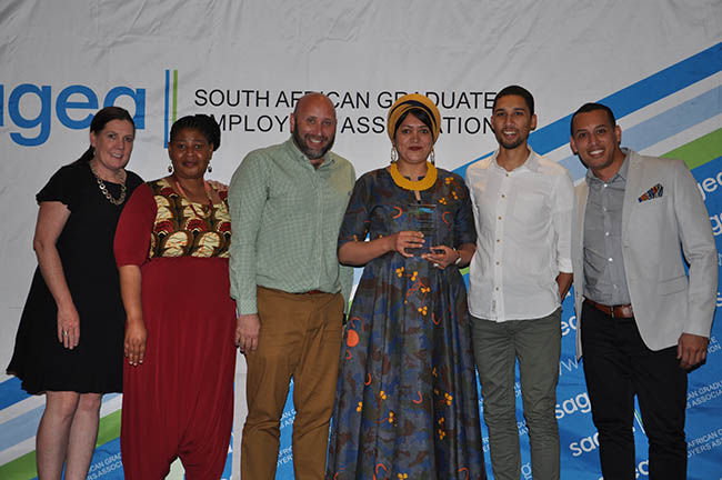 The UCT team at the SEGEA Awards ceremony
