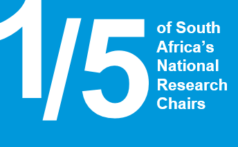 1/5 of Africa\s National Research Chairs