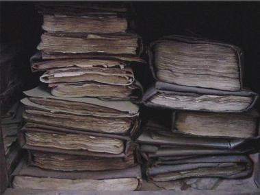 Stacks of manuscripts, Timbuktu